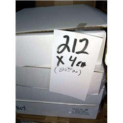 "DOCUTAB 50 SETS DTL53  11"" X 9"" WHITE 90 LB / APPROX. $109.00 PER CS NEW"