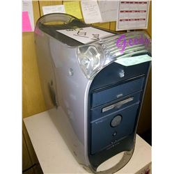 APPLE POWERMAC G4, W/ MOUSE, KEYBOARD, GEM MONITOR
