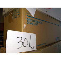 KONICA MINOLTA DR711 (BLACK) DRUM UNIT / COST APPROX. $200.00 NEW