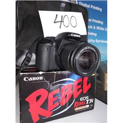 LIKE NEW CANON REBEL EOS T3i W Tri Pod / Approx $350.00 New