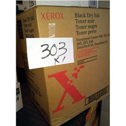 XEROX BLACK DRY INK