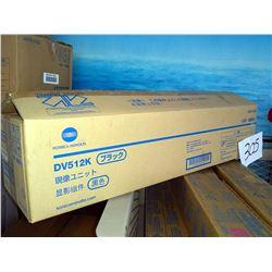 KONICA MINOLTA A2XN03D DV512K BLACK DEVELOPER UNIT / APPROX. $160.00 NEW