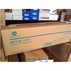 KONICA MINOLTA IU711C CYAN IMAGING UNIT / APPROX. $400.00 NEW