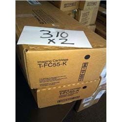 TOSHIBA BLACK IMAGING CARTRIDGE T-FC55-K / APPROX. $160.00 NEW