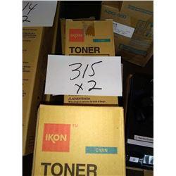 IKON CPP8050 CYAN TONER / APPROX. $80.00 NEW