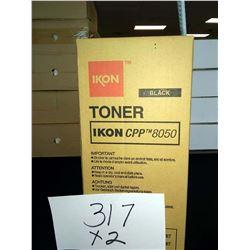 IKON CPP8050 BLACK TONER / APPROX. $50.00 NEW