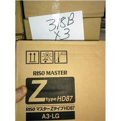 RISO S-2632 MASTER Z TYPE HD 87 / APPROX. $100.00 NEW
