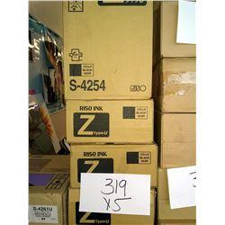 RISO BLACK S-4254 Z TYPE U / APPROX. $80.00 NEW