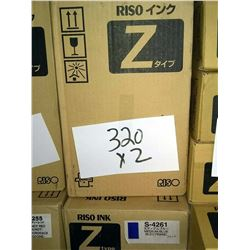 RISO MEDIUM BLUE S-4261 Z TYPE U / APPROX. $50.00 NEW