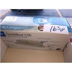 GBC COMBBIND C55, BRND NEW IN BOX / APPROX. $115.00 NEW