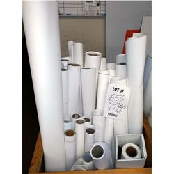 29 ASSTD. PARTIAL ROLLS: GLOSSY, FINE ART CANVAS, SELF ADHESIVE, OTHER