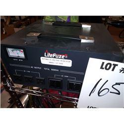LITEFUZE LR 5000 AUTOMATIC VOLTAGE REGULATOR / $200.00 NEW