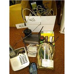 LOT: ASST ELECTRONICS / SOME NEW