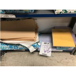LOT OF 6 REAMS OF ASSORTED PAPER