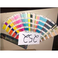 PANTONE COLOR PALLETTE LOT