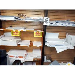 LARGE LOT OF MISC LOOSE PAPER