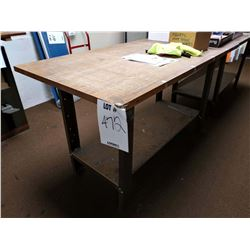 LARGE WORK / PACKING TABLE
