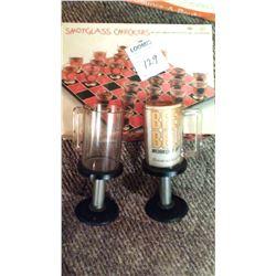 Vintage Pair of BEER BELL Novelty Mugs