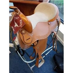 NEW FORT WORTH NEW (SHOWROOM SAMPLE) SADDLE/ $499.00
