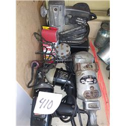 LOT OF ELECTRIC POWER TOOLS