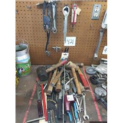 ASSORTED HAND TOOLS LOT