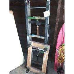APPLIANCE HAND TRUCK, AND WOODEN CARPET END DOLLY