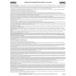 SPECIAL NOTICES /TERMS AND CONDITIONS