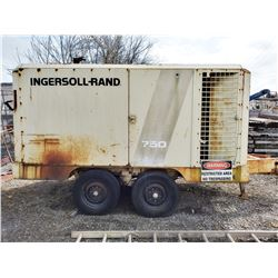 INGERSOLL- RAND  #750 COMPRESSOR / RUNS