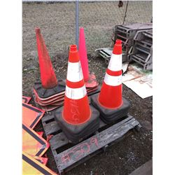 Pallet Of Asst Traffic Control Cones