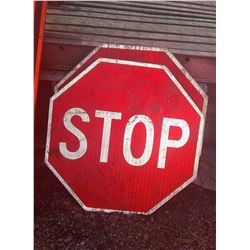 New Metal Stop Signs