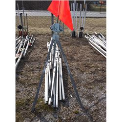 USA Sign E350 / 380 Sign & Flag Stands x10