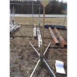 Korman Spring Loaded Base  Sign Stands (Like New ) x 7