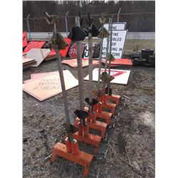 Eastern Metal USA Sign Stands w Barricade Mounts