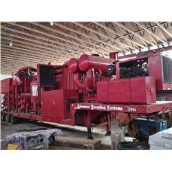 ARS VAC UNIT MODEL B RECYCLE UNIT / JOHN DEERE DSL ENGINE