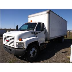 GMC  C7500 FREIGHT BOX STRAIGHT TRUCK