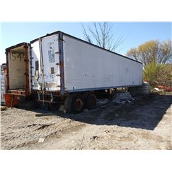 2 X VAN TRAILERS FOR STORAGE