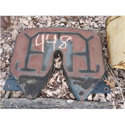 5TH WHEEL PLATE FOR TRACTOR