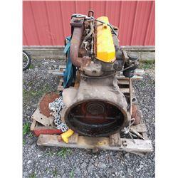 JOHN DEERE DSL ENGINE AS-IS  / LOCATION #2