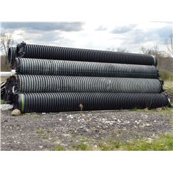 "Drainage Pipe, Approx  20ft x 24""  Perforated/ Over $500.00 Each New"
