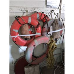 Assortment of Life Preservers