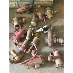 MISC. ASSORTED VALVES