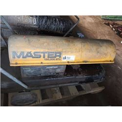 MASTER 150,000 BTU KEROSENE FORCED AIR HEATER