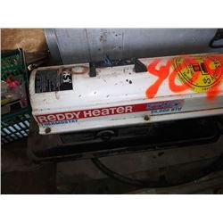 REDDY HEATER 55,000 BTU, FORCED AIR CONSTRUCTION HEATER