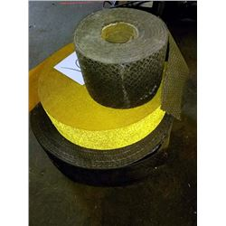 LOT OF REMOVABLE PAVEMENT TAPE X2, REFLECTIVE MARKING TAPE X1