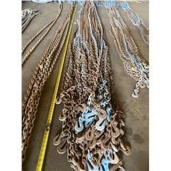 15 FT. LENGTH CHAIN W/ HOOKS