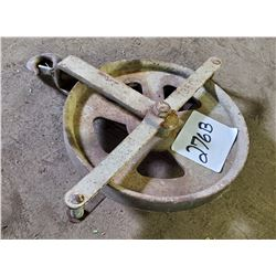 LARGE 12 INCH PULLEY