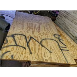PLYWOOD 4 X 8 FT X 3/4 IN. / 19 SHEETS