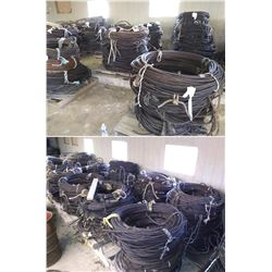 62 X PALLETS OF ASST CABLE(STORED INSIDE) ( APROX 2.5 SEMI TRAILER LOADS)