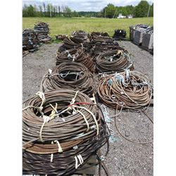 61 X PALLETS OF ASST CABLE(LOC #2 / YARD ) HOLD THE BID