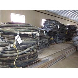 22X PALLETS OF 4 PLY INDUSTRIAL BLAST  HOSE w HARDWARE (X SEMI TRAILER )